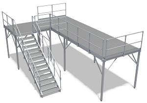 Aluminium Arbeitsbühne